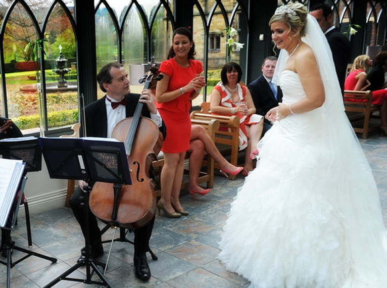 North East Soiree wedding String Quartet at Gisborough Hall