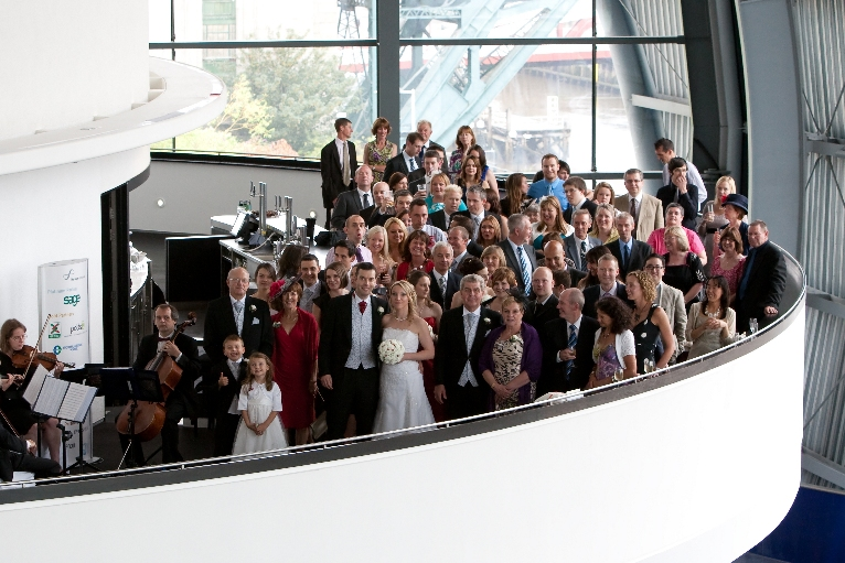Wedding String Quartet at the Sage Gateshead