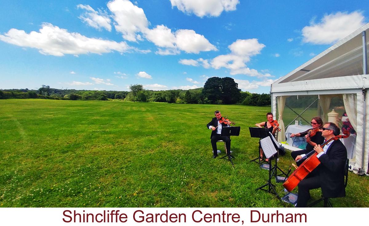 North East Soiree String Quartet_Shincliffe