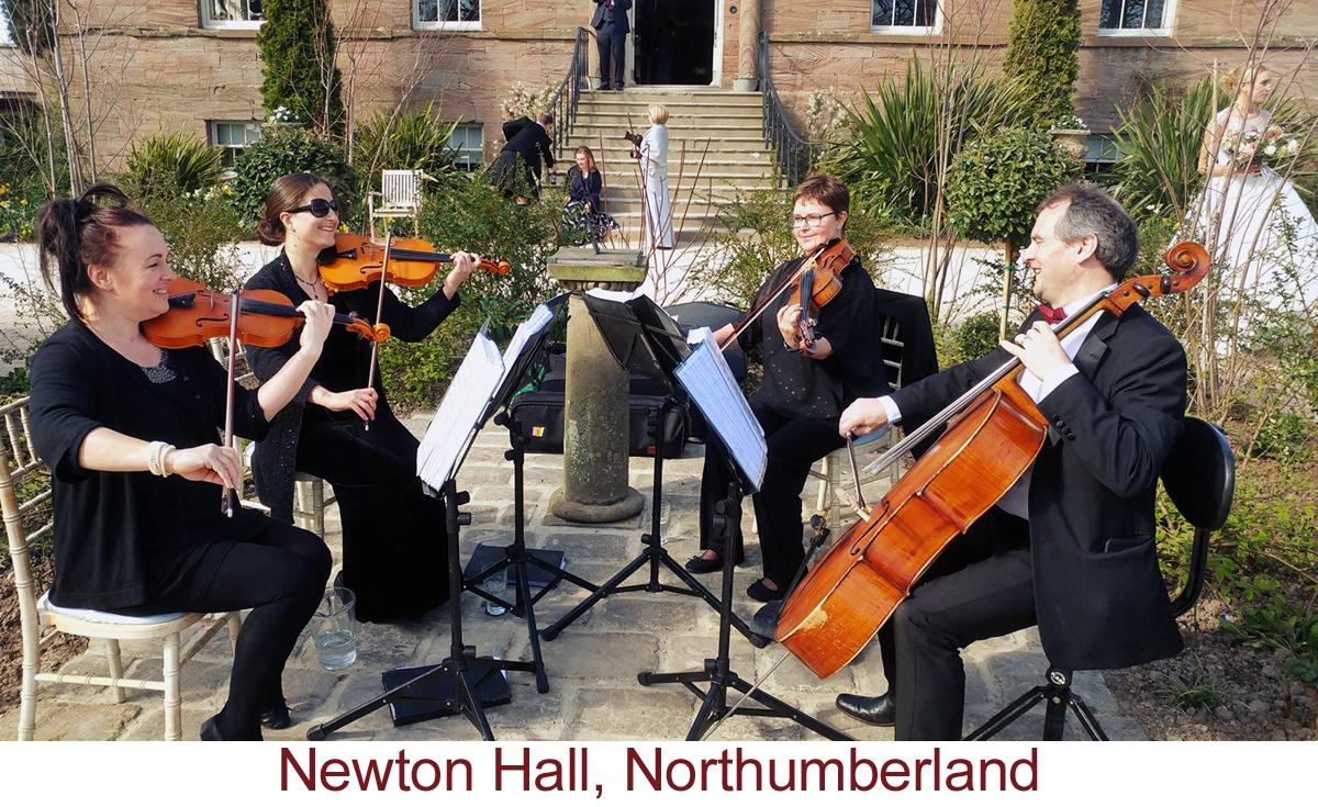 North East Soiree String Quartet_NewtonHall