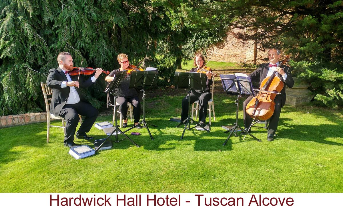 North East Soiree String Quartet_HardwickHall