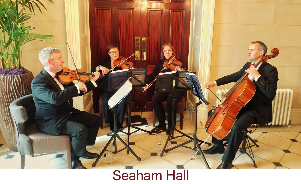 North East Soiree String Quartet_SeahamHall