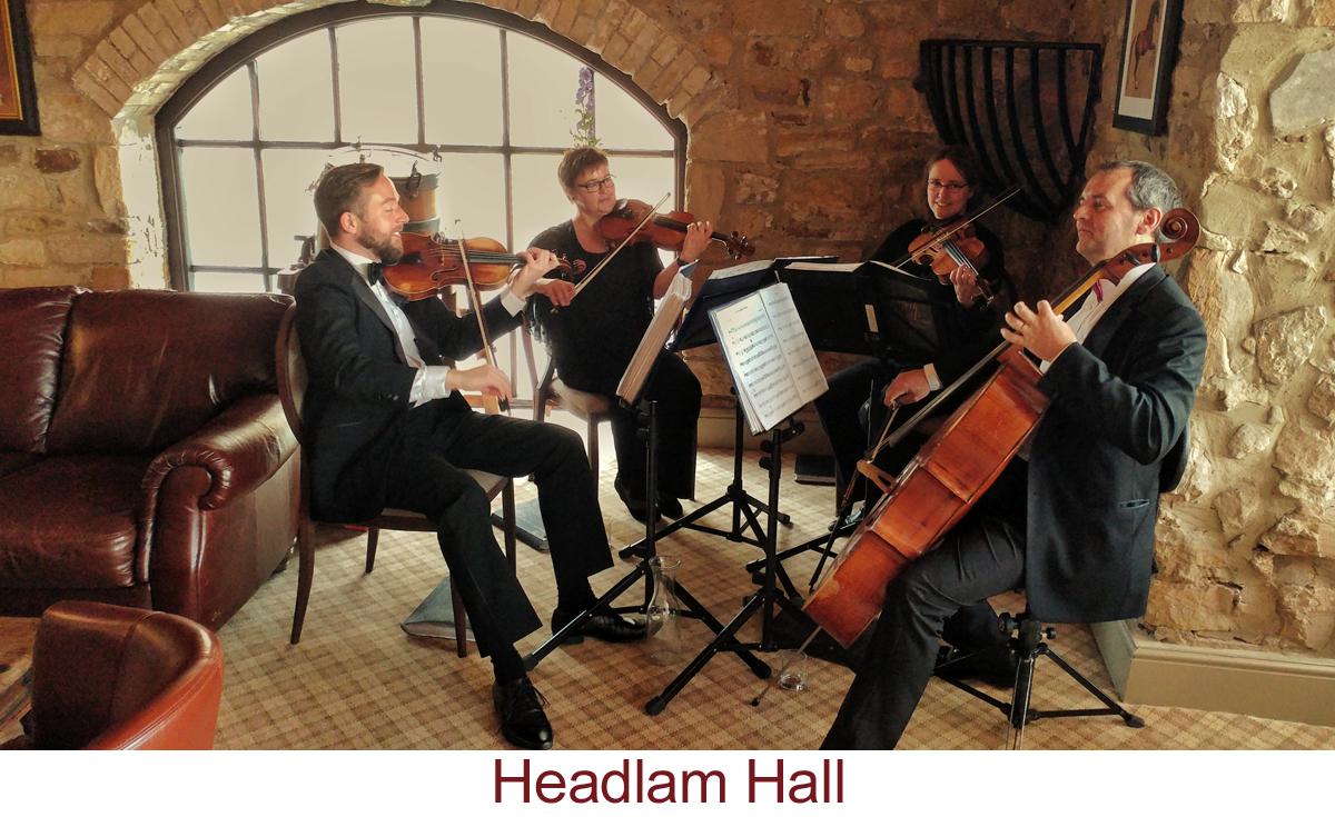 North East Soiree String Quartet_HeadlamHall