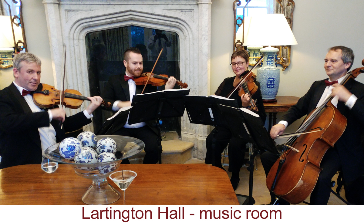 North East Soiree String Quartet_LartingtonHall