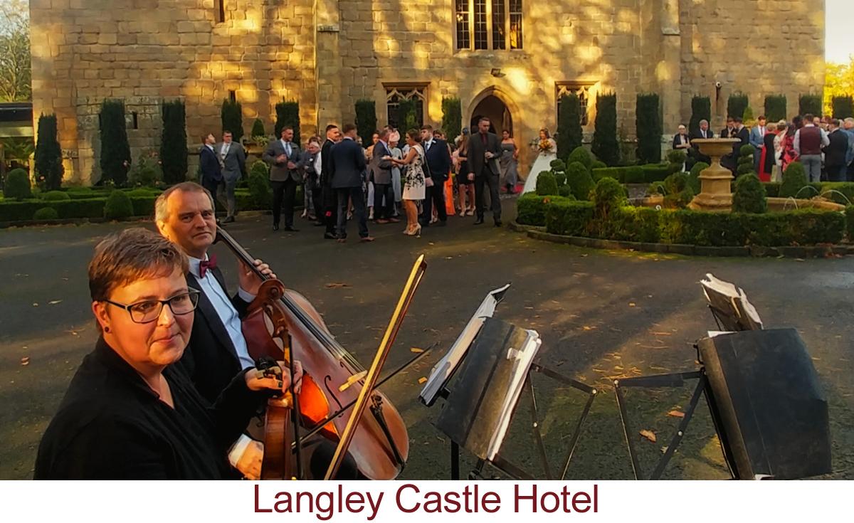 North East Soiree String Quartet_LangleyCastle