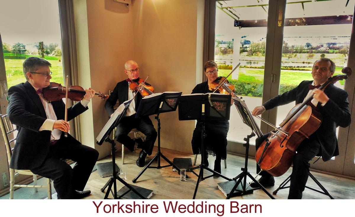 North East Soiree String Quartet_YorkshireWeddingBarn