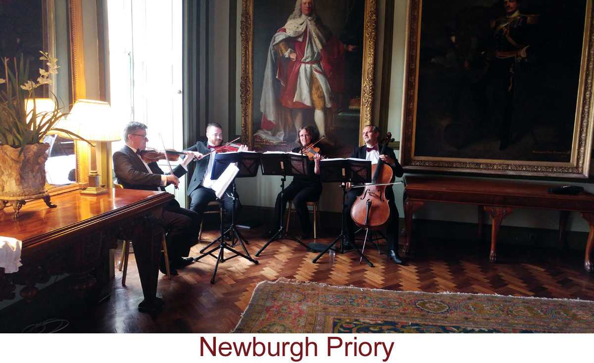 North East Soiree String Quartet_NewburghPriory