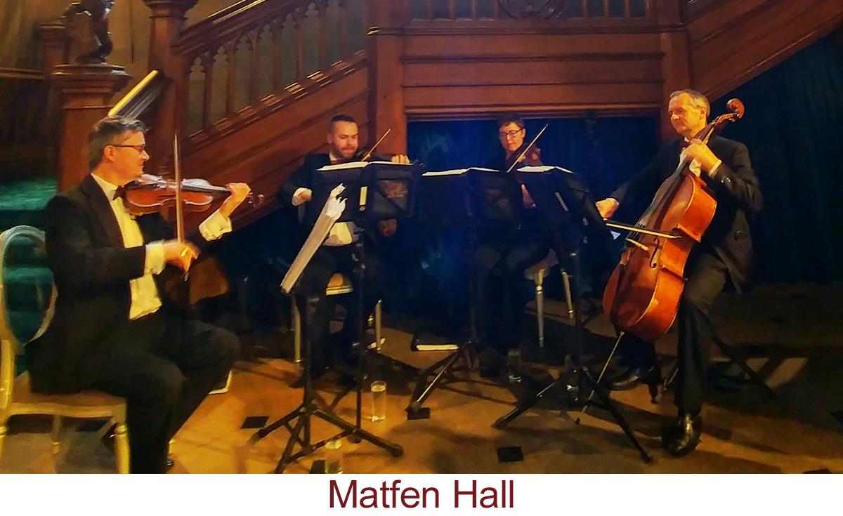 North East Soiree String Quartet_MatfenHall
