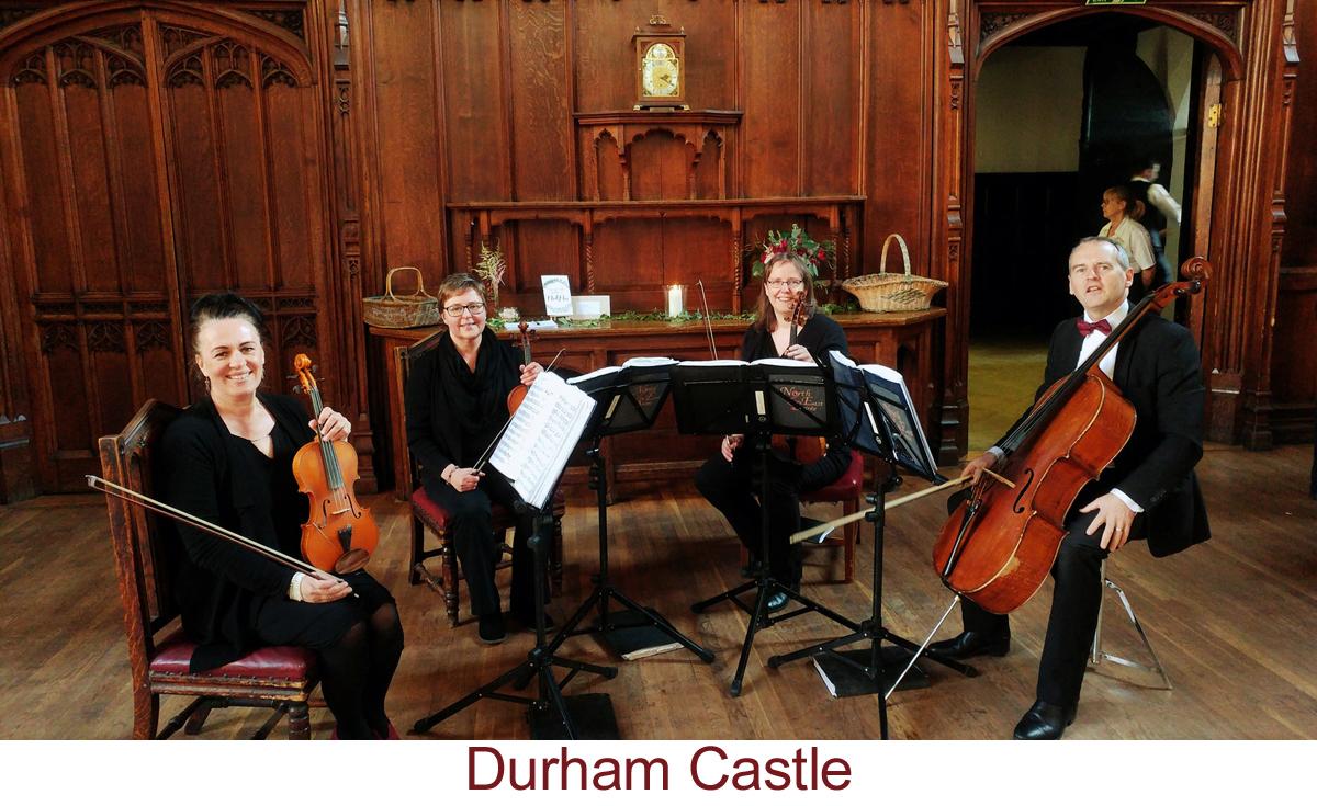 North East Soiree String Quartet_DurhamCastle